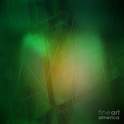 Abstract 1005 Art Print by John Krakora