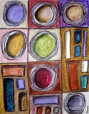 Avant Garde Mixed Media - Abstract 101 by Venus