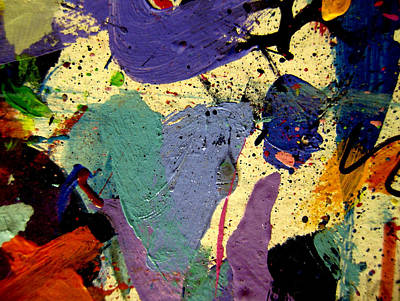 Mixed Medium Painting - Abstract 11 by John  Nolan