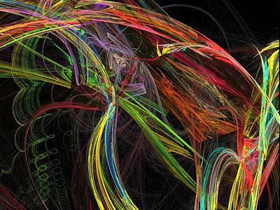 Digital Art - Abstract 114 by Sandra Conceicao