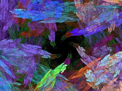 Digital Art - Abstract 116 by Sandra Conceicao