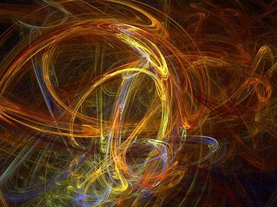 Digital Art - Abstract 117 by Sandra Conceicao