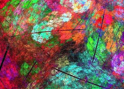 Digital Art - Abstract 120 by Sandra Conceicao