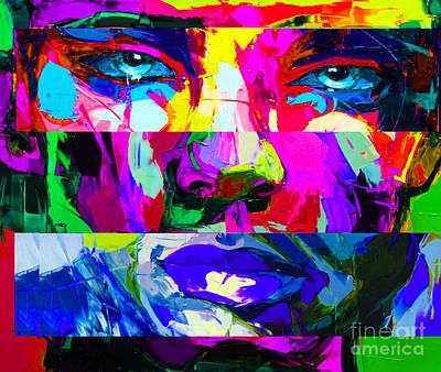 Custom Framed Art Mixed Media - Abstract 12.20.2014..05.20.am by Nicholas Nixo