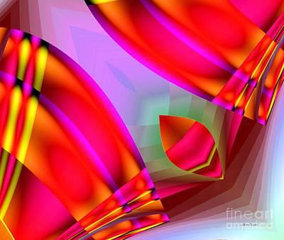 Digital Art - Abstract 134 by Maria Urso