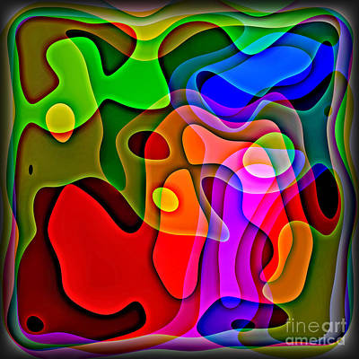 Digital Art - Abstract 1593 by Walt Foegelle