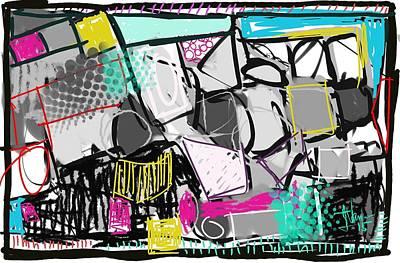 Digital Art - Abstract 16 Jan 2015 by Jim Vance