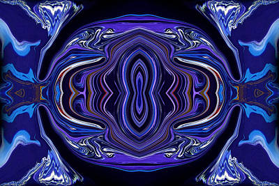 Mirror Painting - Abstract 172 by J D Owen