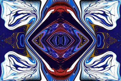 Mirror Painting - Abstract 173 by J D Owen