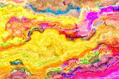 Abstract 19 Art Print by Craig Gordon