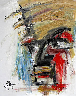 Painting - Abstract 2 Feb 18 2013 by Jim Vance