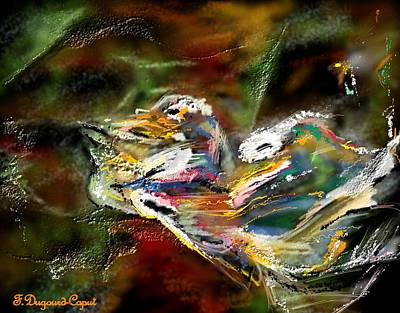 Abstract 2 Print by Francoise Dugourd-Caput