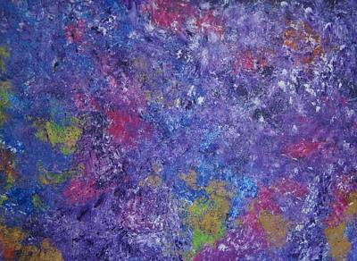 Art Print featuring the painting Abstract 2 by Kristine Bogdanovich