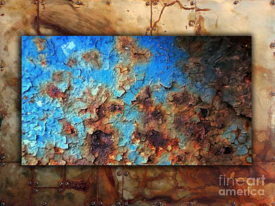 Green Mixed Media - Abstract 2 by Marvin Blaine