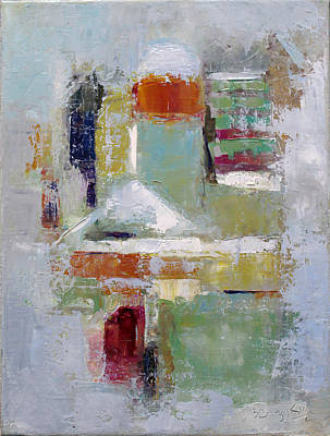 Painting - Abstract 2015 02 by Becky Kim