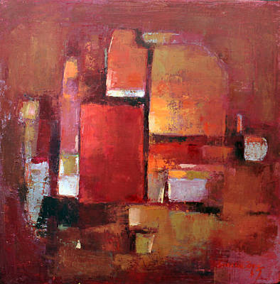 Painting - Abstract 2015 05 by Becky Kim
