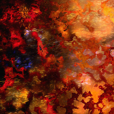 Abstract 21214a Art Print by Daniel Mowry