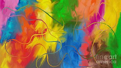 Painting - Abstract 22 by Alex Rahav
