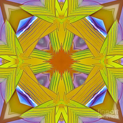 Kaleidoscope Digital Art - Abstract 25 by Deborah Benoit