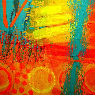Joyce Painting - Abstract 261114 by John  Nolan