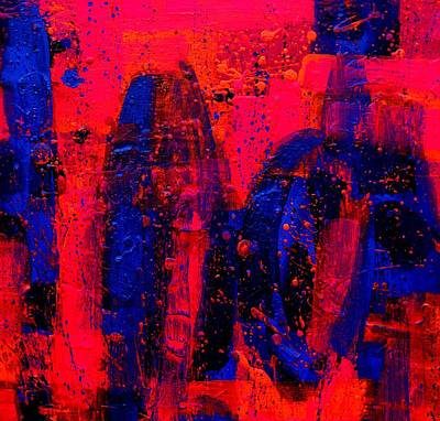 Abstract Expressionism Painting - Abstract 28115 by John  Nolan