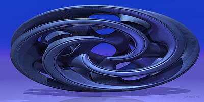 Digital Art - Abstract 330 A 3d Sculpture by Judi Suni Hall