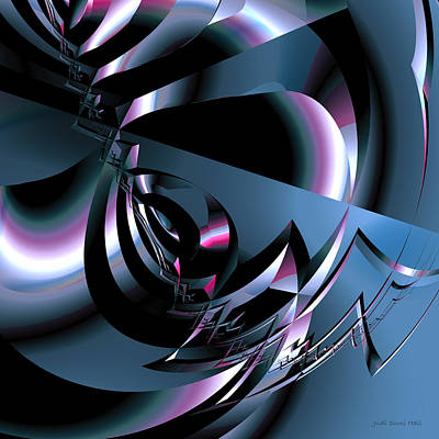 Digital Art - Abstract 347 by Judi Suni Hall