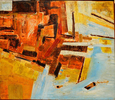 Painting - Abstract-4 by Anand Swaroop Manchiraju