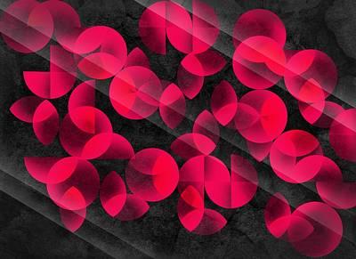 Abstract Patterns Digital Art - Abstract 4  by Mark Ashkenazi
