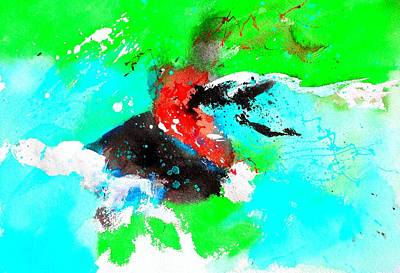 Abstrac Painting - Abstract 72374 by Pol Ledent