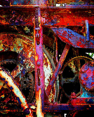 Photograph - Abstract 76 by Timothy Bulone
