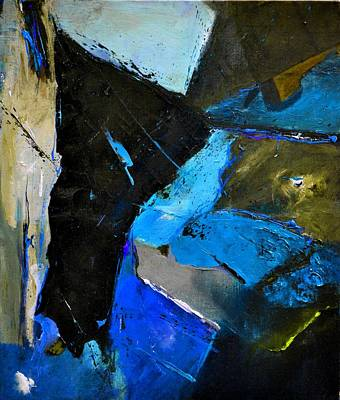 Pittsburgh According To Ron Magnes - Abstract 82014 by Pol Ledent