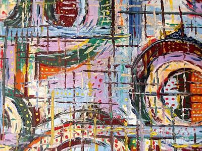 Abstract 9 Art Print by Patrick J Murphy