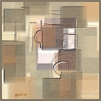 Abstract 949 Art Print by Nedunseralathan R