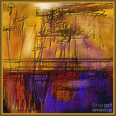 Abstract 970 Art Print by Nedunseralathan R