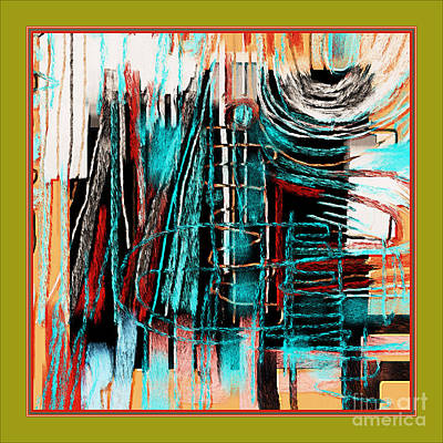 Abstract 974 Art Print by Nedunseralathan R