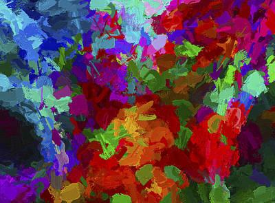 Digital Art - Abstract Series A1 by Carlos Diaz
