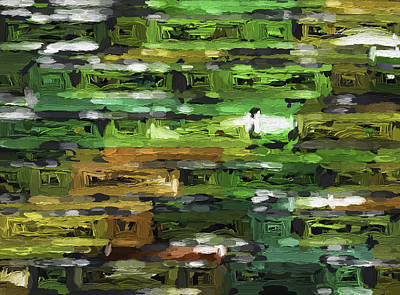 Digital Art - Abstract Series A4 by Carlos Diaz