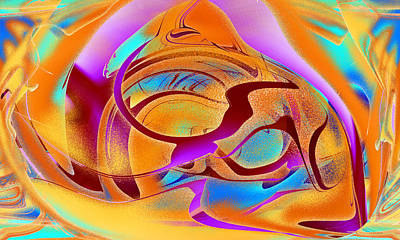 Digital Art - Abstract Abstraction by Roy Erickson