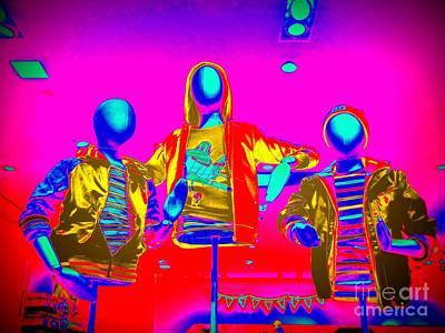 Digital Art - Abstract Advertising by Ed Weidman