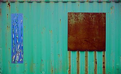 Found Object Art Photograph - Abstract by Andrew Wohl