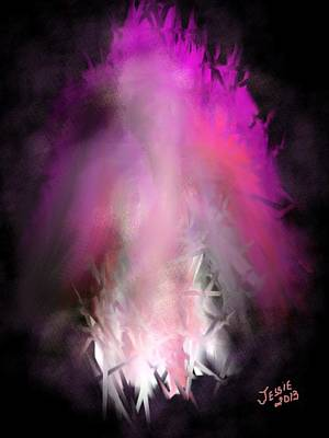 Painting - Abstract Angel by Jessica Wright