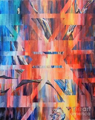 Abstract Antler Original by Hannah Circenis