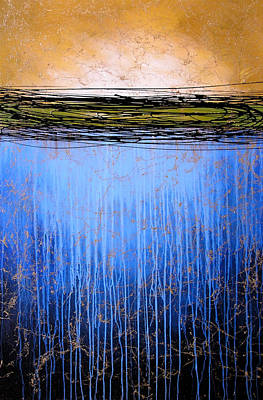 Drips Painting - Abstract Art ... It Only Matters #3 by Amy Giacomelli