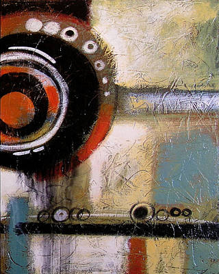 Abstract Art Print ... The World Goes Round 2 Art Print by Amy Giacomelli