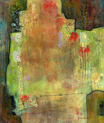 Abstract Art Where The Love Is Original by Blenda Studio