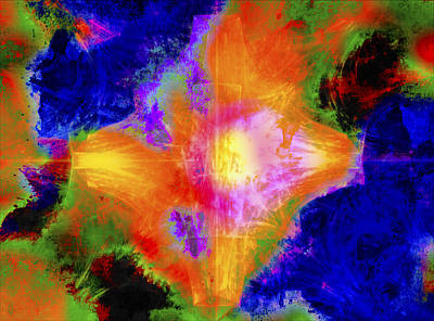 Digital Art - Abstract Series B1 by Carlos Diaz