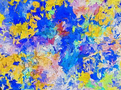 Digital Art - Abstract Series B10 by Carlos Diaz