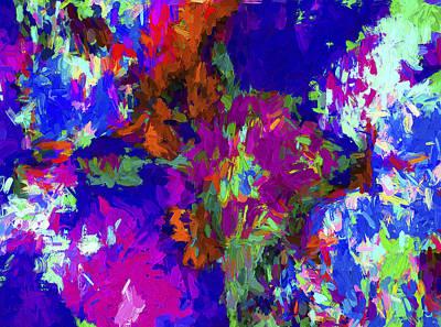 Digital Art - Abstract Series B2 by Carlos Diaz