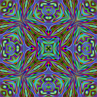 Digital Art - Abstract B34 by Charmaine Zoe